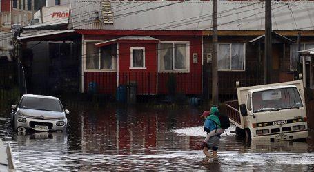 Cortes de luz e inundaciones han dejado las lluvias en la zona central de Chile