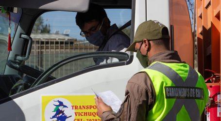 Carabineros reportó un total de 1.635 detenidos en la última jornada