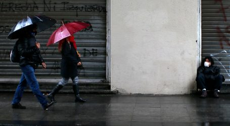 Decretan Alerta Temprana Preventiva por pronóstico de precipitaciones en RM