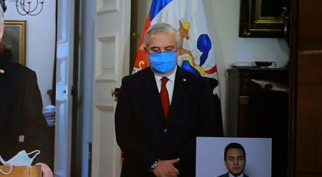Enrique Paris asumió el Ministerio de Salud en reemplazo de Jaime Mañalich