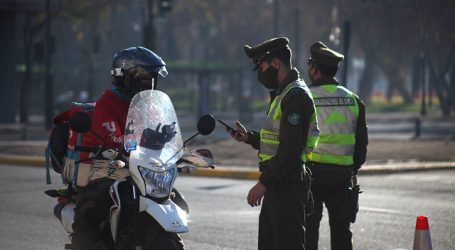 Carabineros reportó un total de 1.204 detenidos en la última jornada