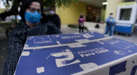 Celis pidió testeo masivo a funcionarios que distribuyen cajas de alimentos