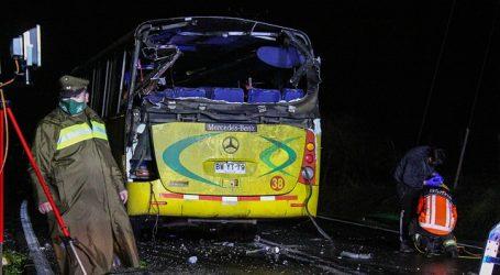 Prisión preventiva para chofer involucrado en accidente en ruta Chillán – Yungay