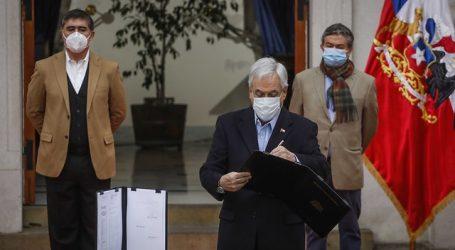 Piñera promulga ley que amplía el Ingreso Familiar de Emergencia