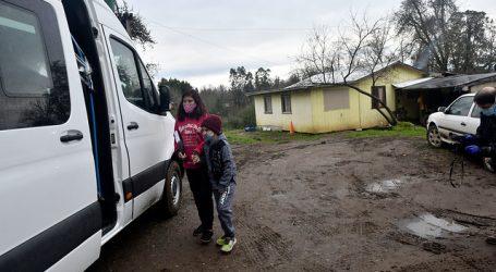 Valdivia: Escuela rural lleva la sala de clases a domicilio