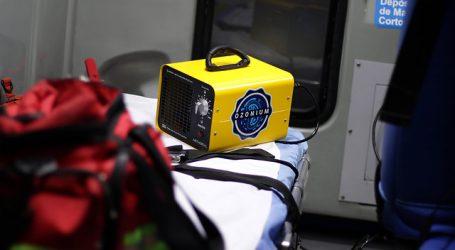 Donan 400 sanitizaciones con ozono para vehículos municipales de Santiago