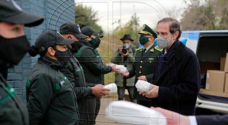 30 mil mascarillas fueron donadas a funcionarios de salud de Gendarmería
