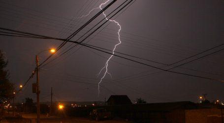 Alerta Temprana Preventiva para Los Lagos por tormentas eléctricas