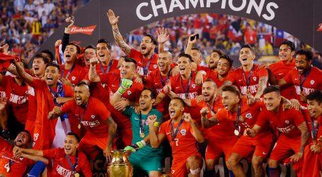 El 'Chapa' Fuenzalida y Mark recordaron el título de la Copa América Centenario