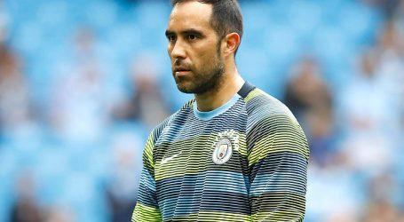 Claudio Bravo volvió a quedar fuera de una citación del Manchester City