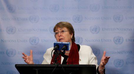 Bachelet destacó la importancia de reparar siglos de injusticia racial