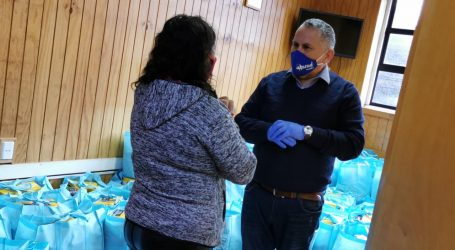 En estado de pandemia Municipalidad de Ancud entrega ayudas solidarias a sus vecinos más afectados