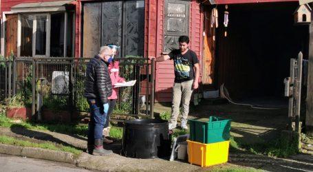 Se inicia entrega de Kits de reciclaje de programa Ancud Composta