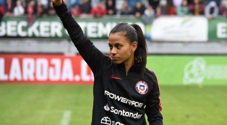 Francisca Lara fue presentada como nueva jugadora del Le Havre AC francés