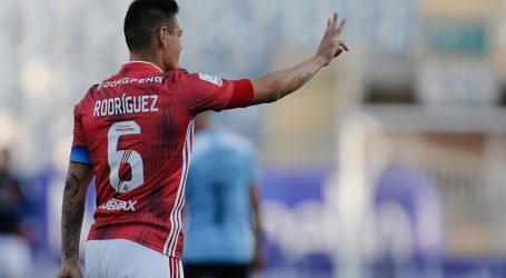 """Matías Rodríguez: """"Voy a pedir la nacionalidad para ayudar al club"""""""