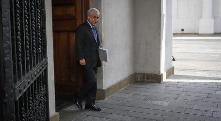 Presidente Piñera encabeza reunión del comité político en La Moneda