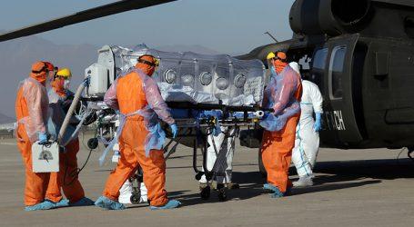 Reconocen a la FACh su apoyo en traslados aéreos de pacientes COVID-19