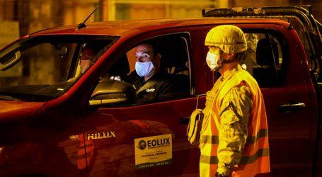 Carabineros reportó un total de 2.260 detenidos en la última jornada