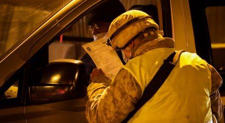 Carabineros reportó 1.674 personas detenidas en la última jornada