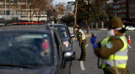 Carabineros reportó un total de 1.488 detenidos en la última jornada