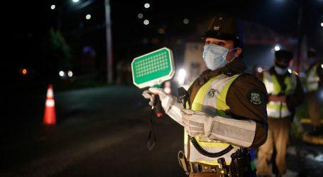 Carabineros reportó un total de 1.780 detenidos en la última jornada