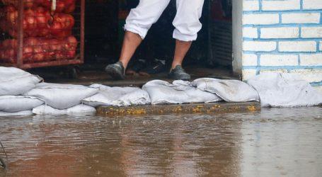 Cerca de 24 mm de agua han caído en el gran Santiago