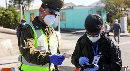 Carabineros reportó un total de 1.953 detenidos en la última jornada