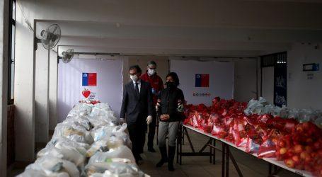 Junaeb ha entregado más de 8 millones de canastas de alimentos a estudiantes