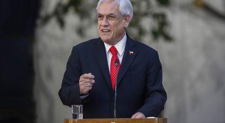 Presidente Piñera convocó a un consejo de gabinete para este viernes