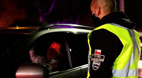 Carabineros reportó un total de 2.100 detenidos en la última jornada