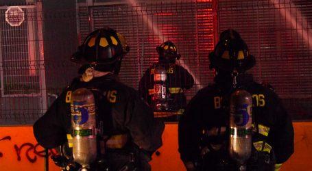 Incendio afectó a bodega de ex fábrica textil en Viña del Mar
