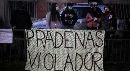 Se registran incidentes en el frontis de casa de Martín Pradenas en Temuco