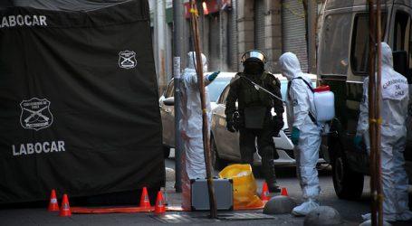 Evacuan edificio en que reside Mónica Caballero por aparatos sospechosos