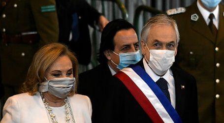Presidente Piñera llegó al Congreso para dar su Cuenta Pública