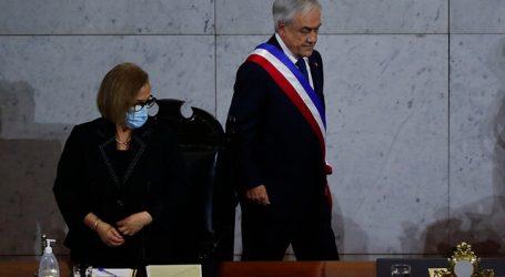"""Presidenta del Senado reconoce """"mejor tono"""" en la Cuenta Pública de Piñera"""