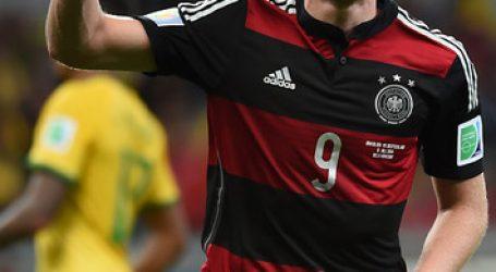 El alemán André Schürrle, campeón del mundo en 2014, se retira a los 29 años