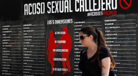 Estudio revela que un 86,4% de las chilenas ha sufrido acoso sexual callejero