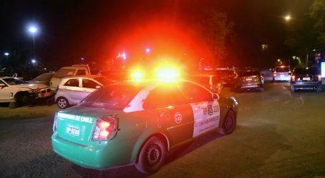 Delincuentes fueron detenidos tras intentar atropellar a Carabineros en Lampa