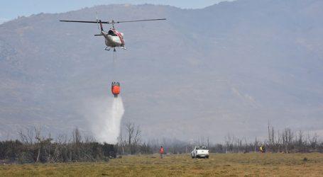 Conaf se prepara para compleja temporada de incendios forestales