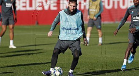 Champions: Messi entrena sin problemas en la vuelta al trabajo del FC Barcelona