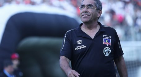 Gualberto Jara reiteró que no ha visto conflictos en el plantel de Colo Colo