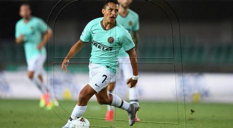 En Italia ven muy difícil la presencia de Alexis ante Shakhtar por Europa League