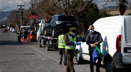 Carabineros reportó 2.165 personas detenidas en la última jornada