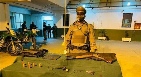 Detienen a un sujeto que caminaba armado durante la Cuenta Pública en Rodelillo