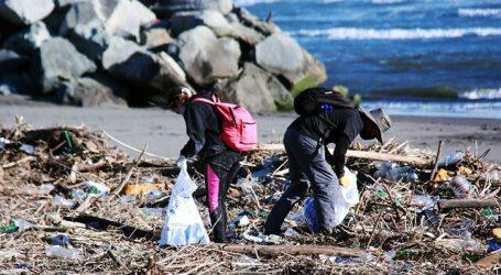 San Antonio: Finaliza exitosa semana de limpieza en playa de Llolleo