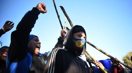 Reportan toma de municipio de Tirúa por parte de grupo de 100 personas