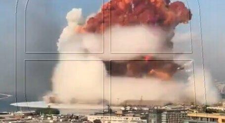 Al menos 60 muertos y 3 mil heridos por fuerte explosión en el puerto de Beirut
