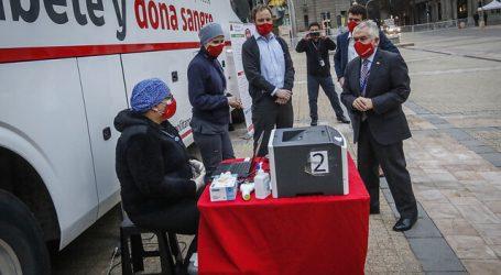 Ministerio de Salud lanzó esta mañana la campaña  #DonaSangreDonaVida