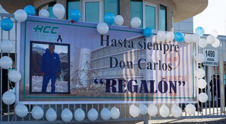 Emotivo adiós al primer funcionario de la salud fallecido por Covid-19 en Calama