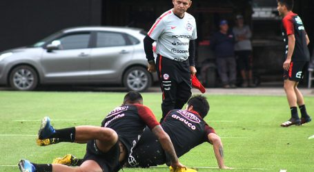 """La """"Roja"""" inició el microcilo de entrenamientos al mando de Reinaldo Rueda"""
